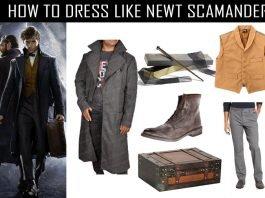 newt-scamander-costume