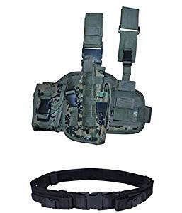 Tactical Thigh Holster With Magazine Pouch