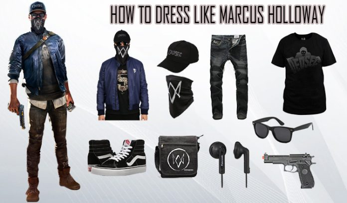 Marcus Holloway Watch Dogs 2 Costume