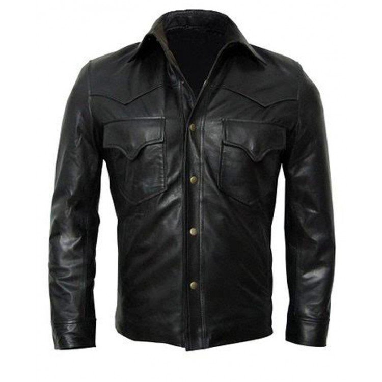Governor Leather Jacket