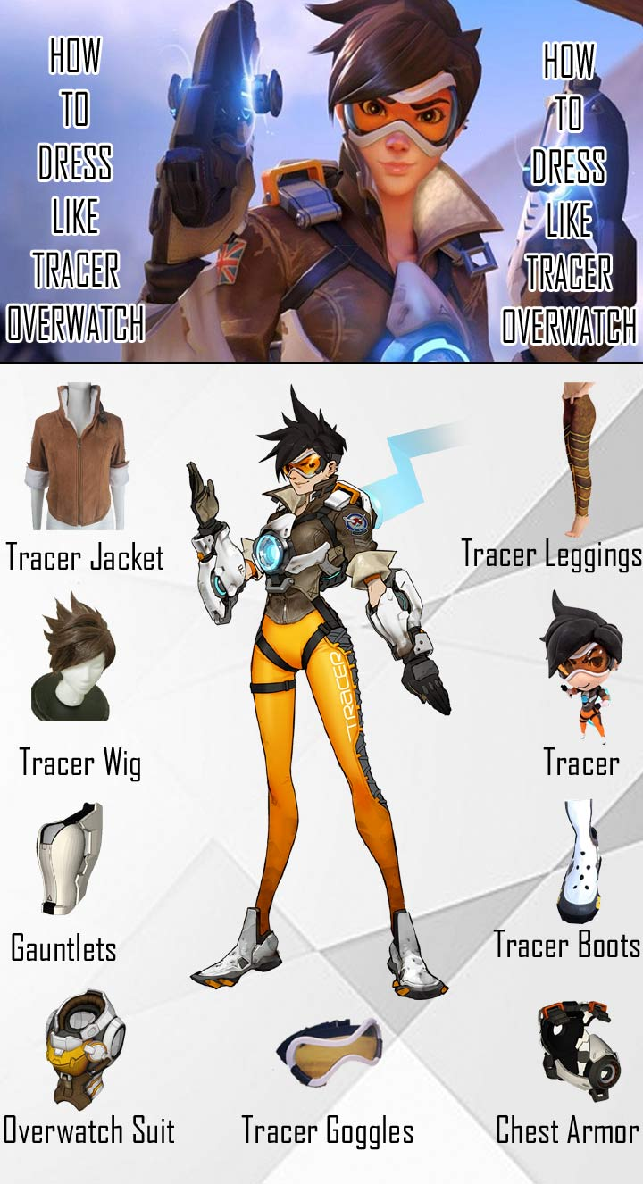 Tracer Overwatch Costume Guide