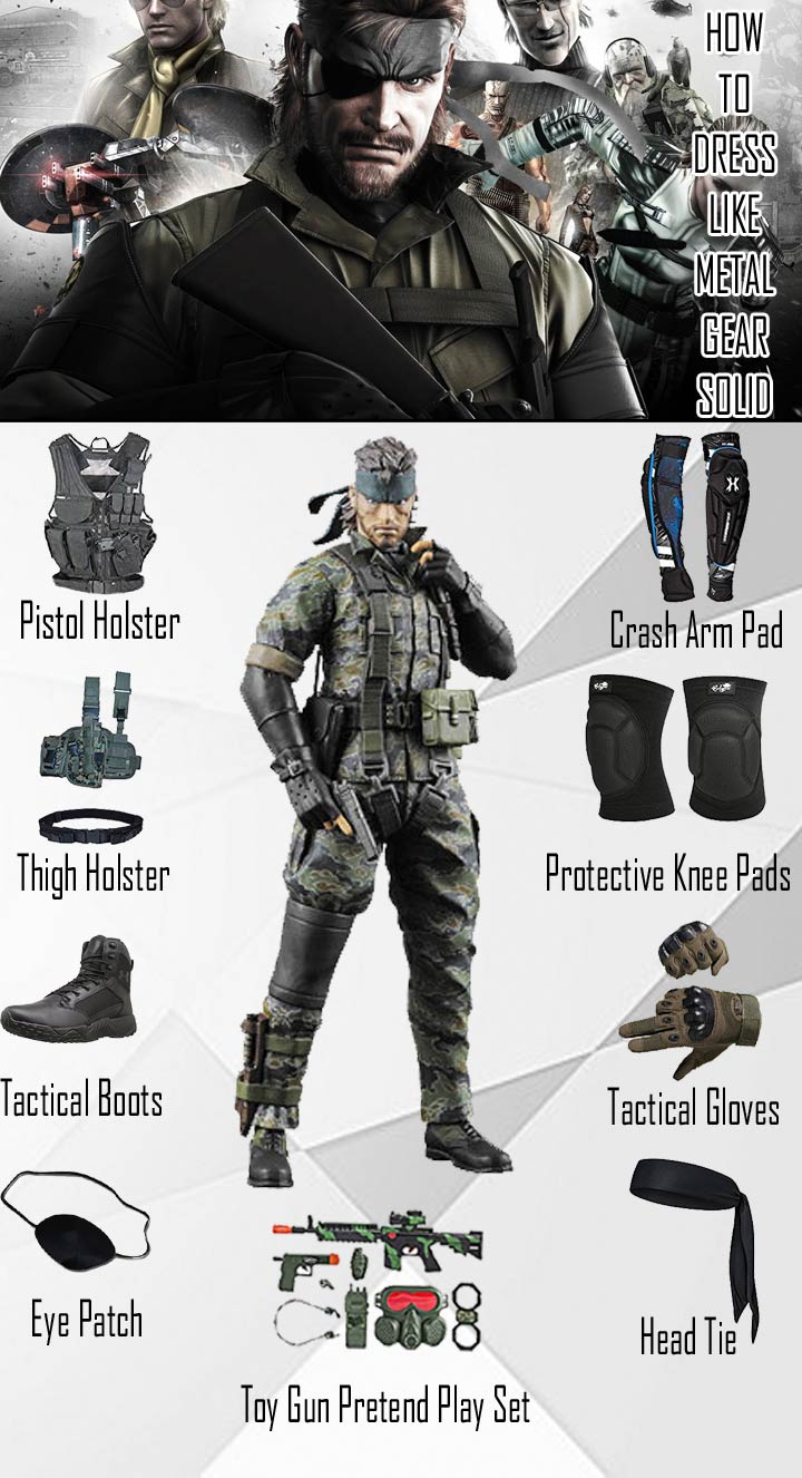 Metal Gear Solid Costume Guide