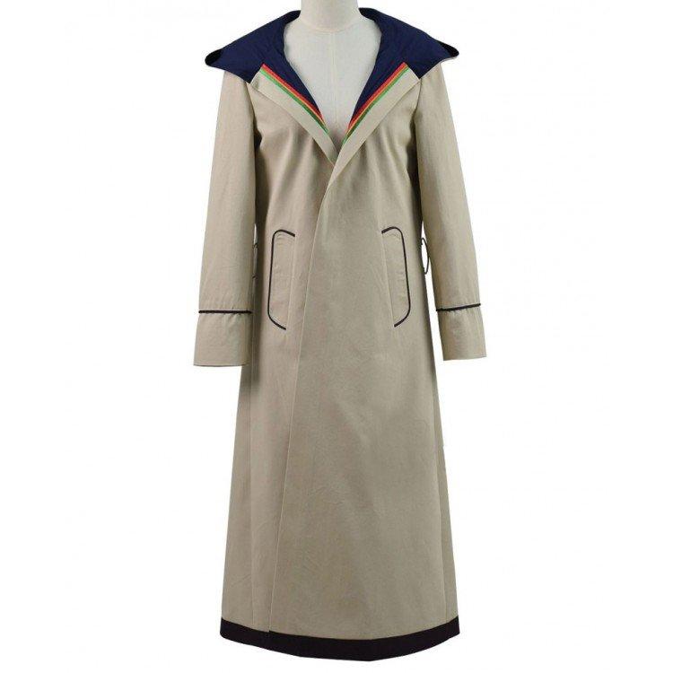 Jodie Whittaker Beige Coat