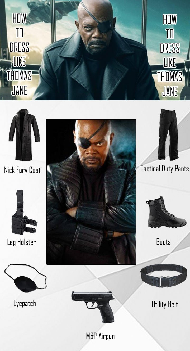The Avengers Nick Fury Costume Guide
