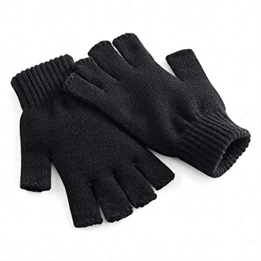 Beechfield Fingerless Winter Gloves