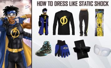 Static Shock Costume Guide