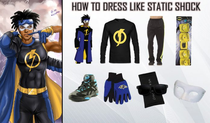 Static Shock Costume Guide