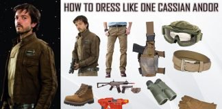 Star Wars Rogue One Cassian Andor Costume