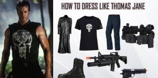 Thomas Jane The Punisher Costume