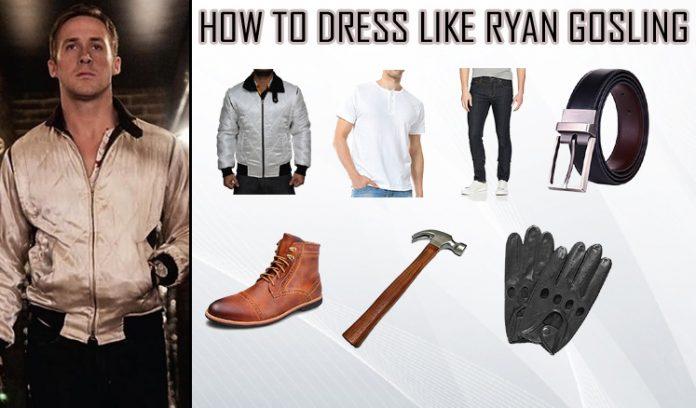 Ryan Gosling Drive Costume