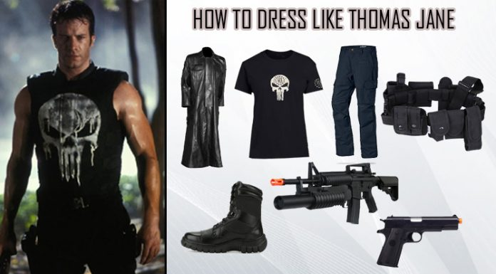 Thomas Jane The Punisher Costume