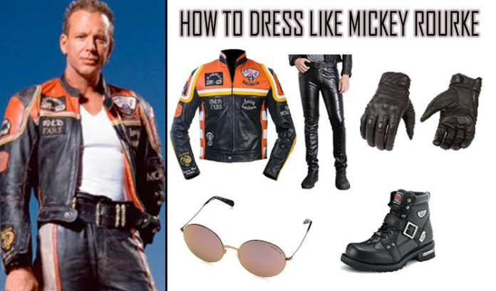 Mickey Rourke Costume