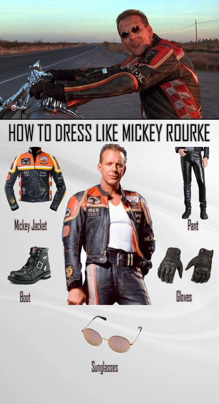 Mickey Rourke Costume Guide