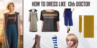13th doctor costume