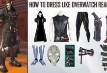 Overwatch Reaper Costume