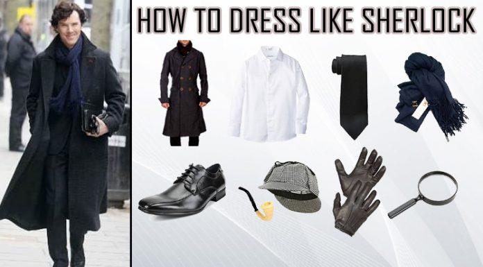 Benedict Cumberbatch Sherlock Costume Guide