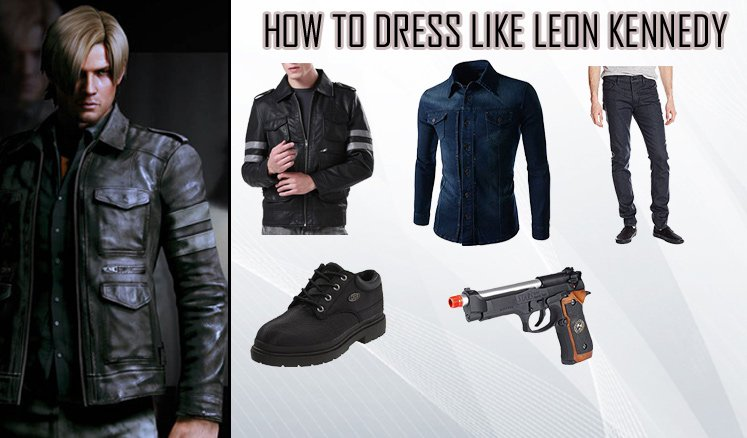 Leon Kennedy Resident Evil 6 Costumes Guide