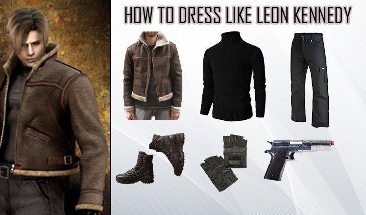 Leon Kennedy Resident Evil 4 Costume Guide
