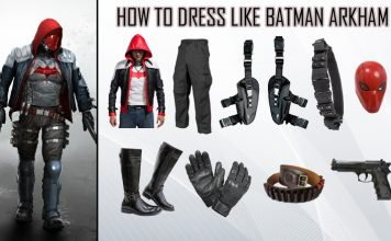 Batman Arkham Knight Red Hood Costume