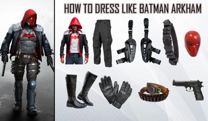 Batman Arkham Knight Red Hood Costume
