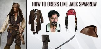 Pirates of the Caribbean Jack Sparrow Costume