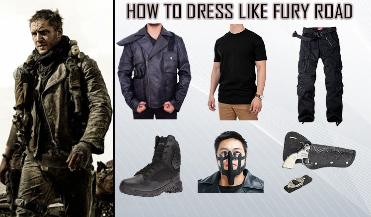 23c135a67 Tom Hardy Mad Max Fury Road Costume Guide