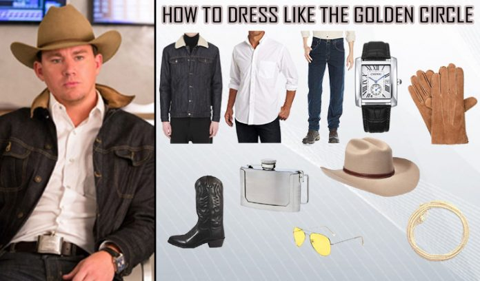 Kingsman The Golden Circle Agent Tequila Costume