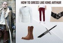 Charlie Hunnam King Arthur Costume
