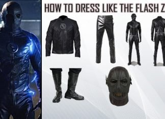 The Flash Zoom Costume