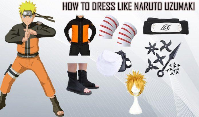 Naruto Uzumaki Costume