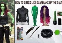 Guardians of The Galaxy 2 Gamora Costume