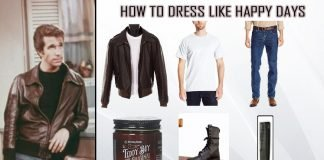 Happy Days Fonzie Costume