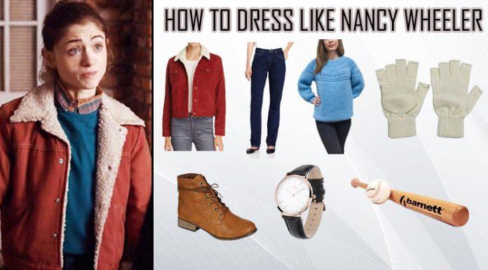 Stranger Things Nancy Wheeler Costume Guide