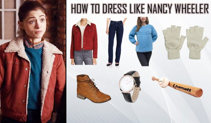 Stranger Things Nancy Wheeler Costume Guide