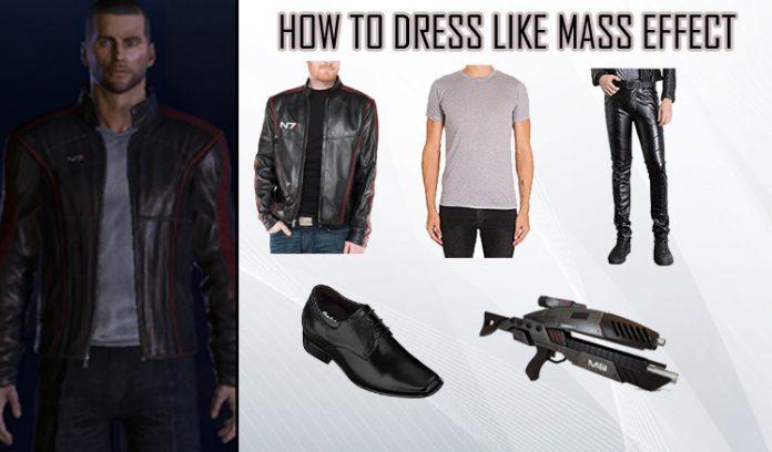 Mass Effect 3 N7 Costume