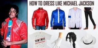 Michael Jackson Beat It And Thriller Costume