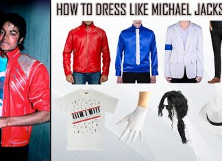 Michael Jackson Beat It And Thriller Costume