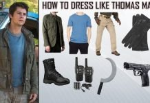 Thomas Maze Runner The Death Cure Costume Guide