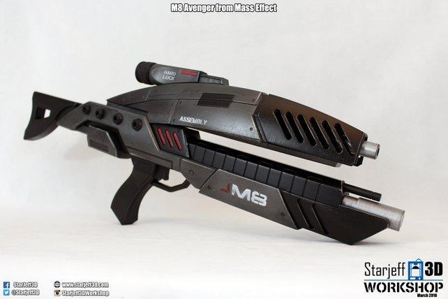 Mass Effect 3 Rifle