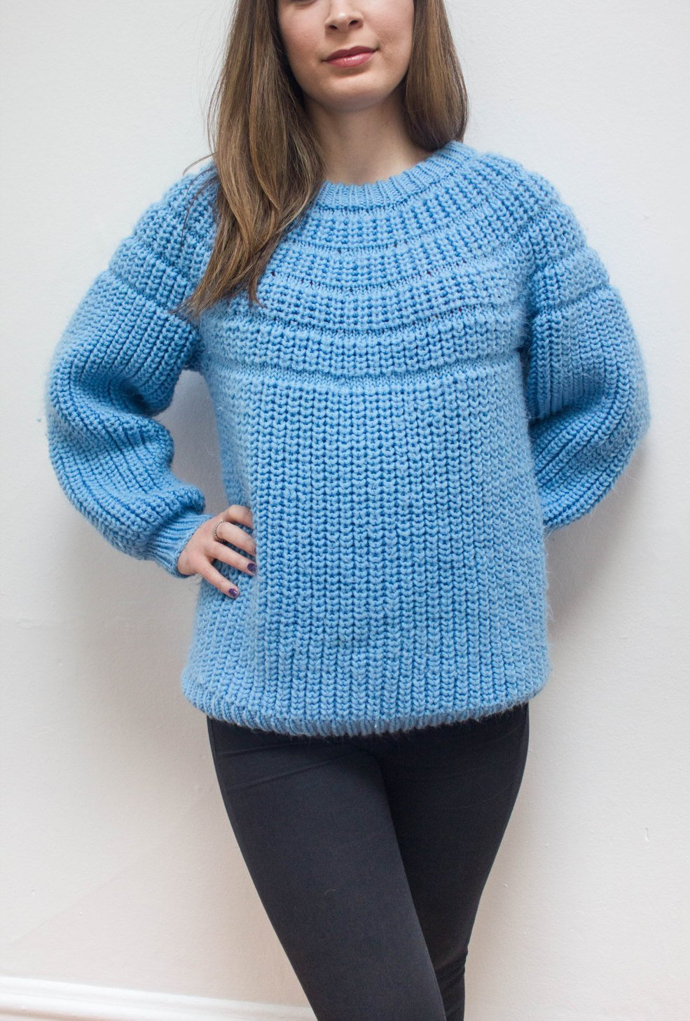 Knitted Oversized Jumper Sweater