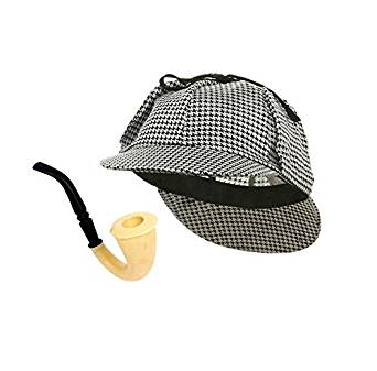 Sherlock Holmes Hat And Pipe