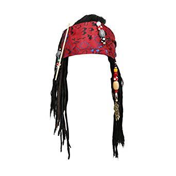Jack Sparrow Wig Bandana