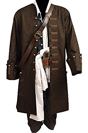 Jack Sparrow Costume Outfit