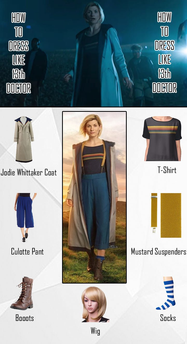 13th Doctor Costume Guide