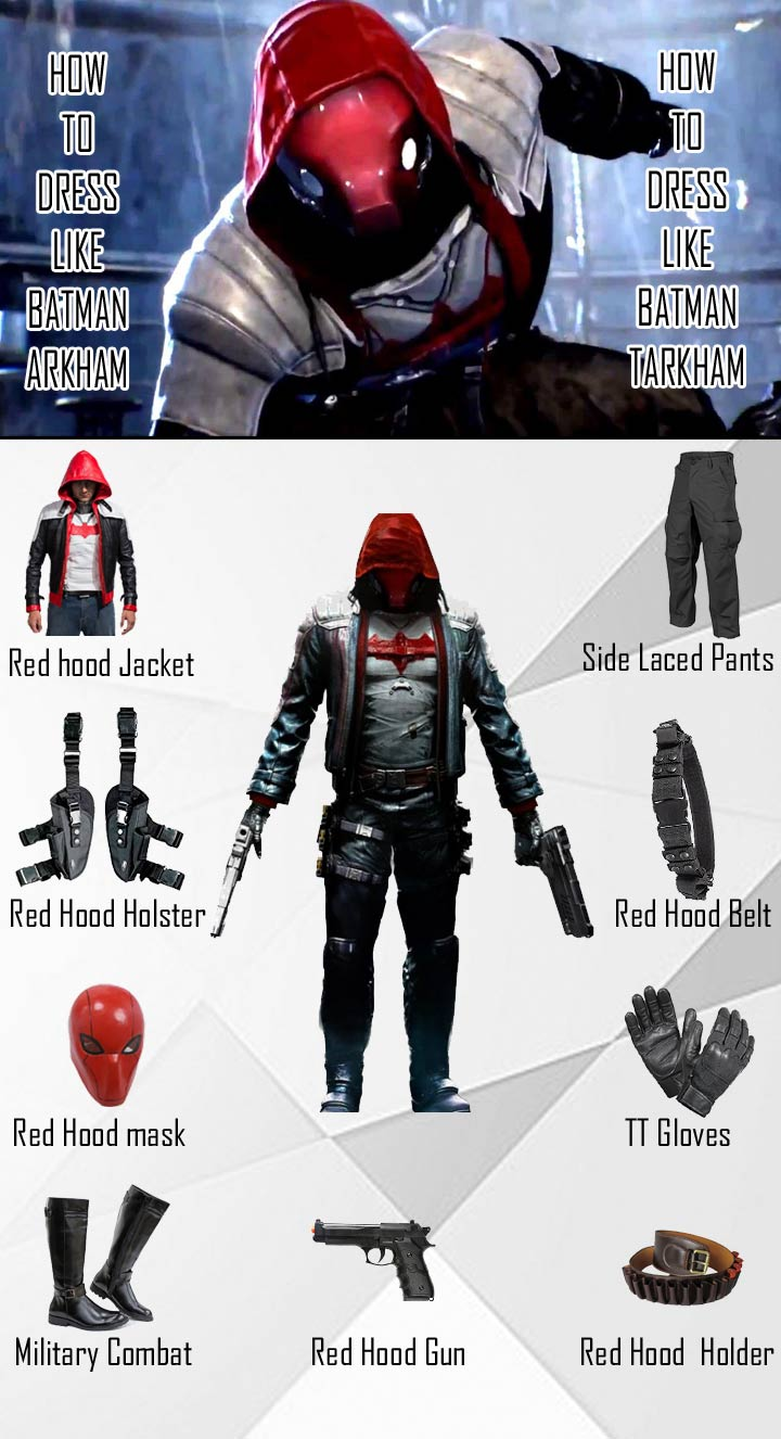 Batman Arkham Knight Red Hood Costume Guide