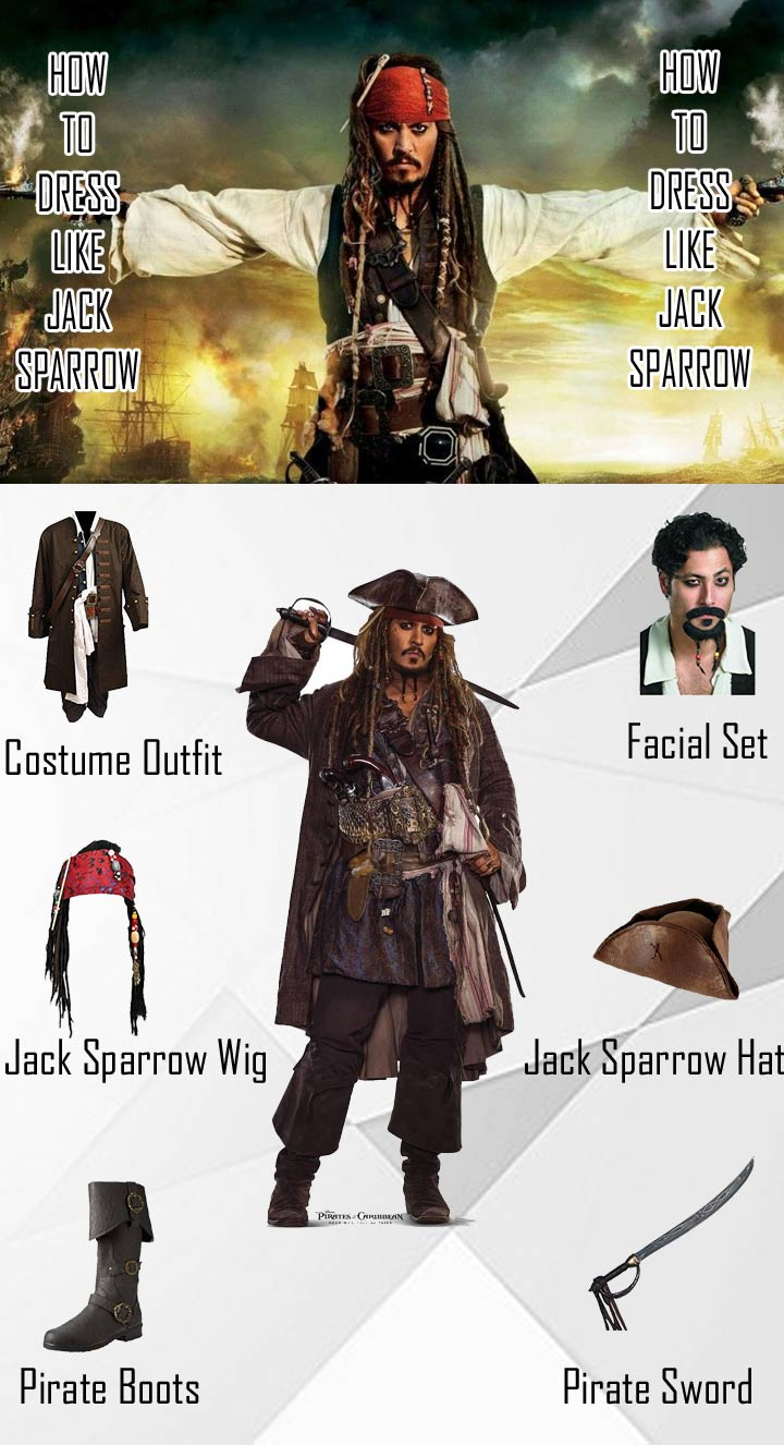 Pirates of the Caribbean Jack Sparrow Costume Guide