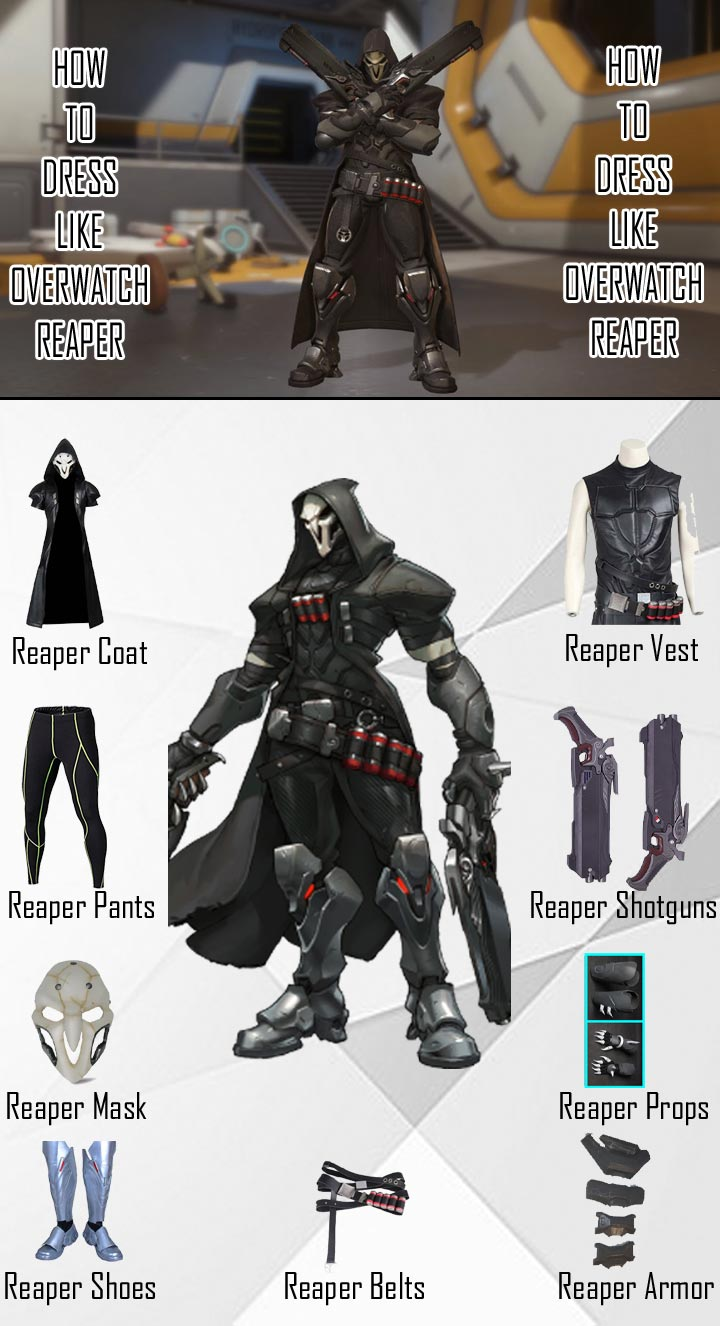 Overwatch Reaper Costume Guide