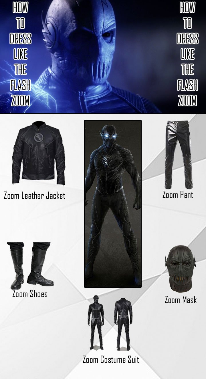 The Flash Zoom Costume Guide