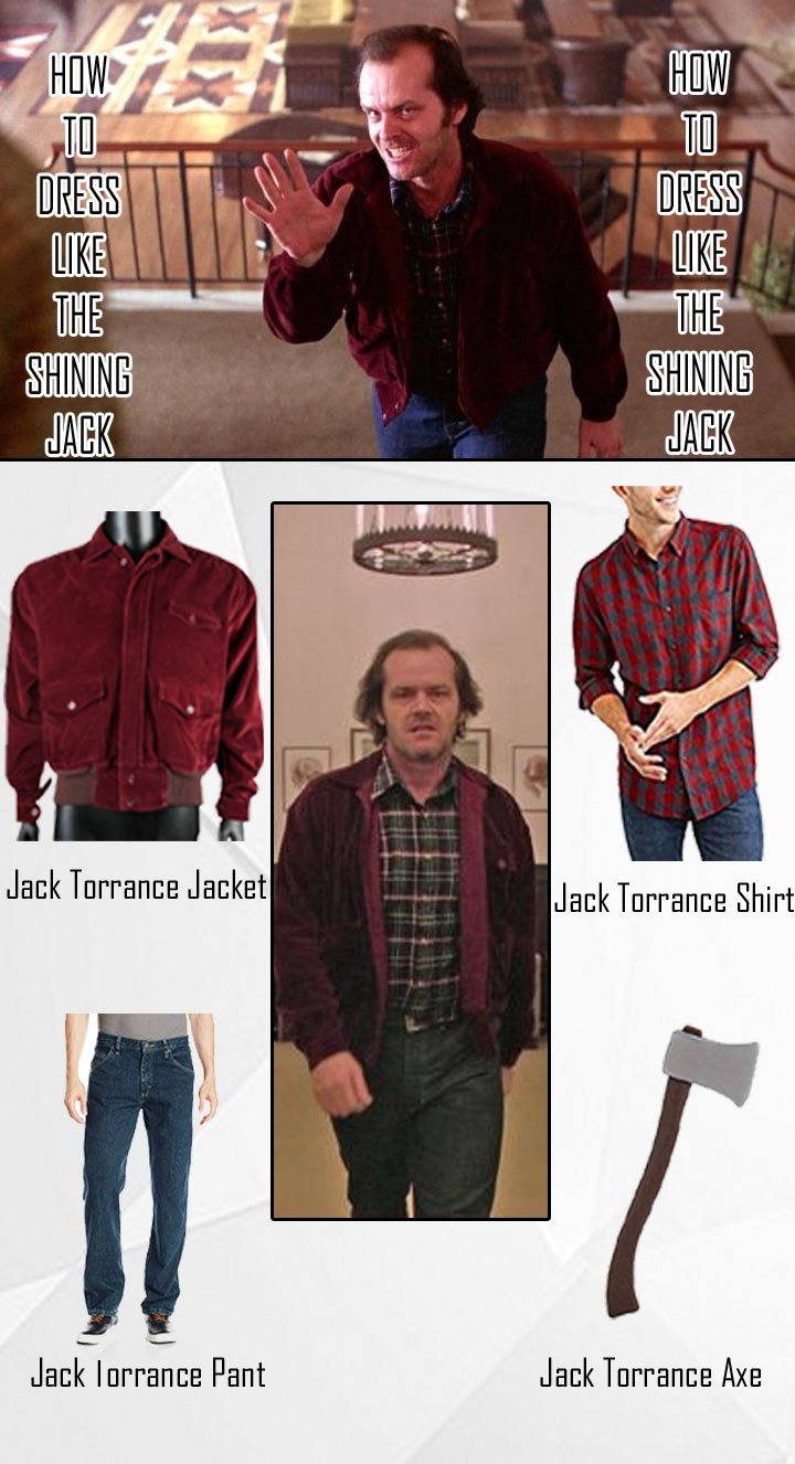 The Shining Jack Torrance Costume Guide