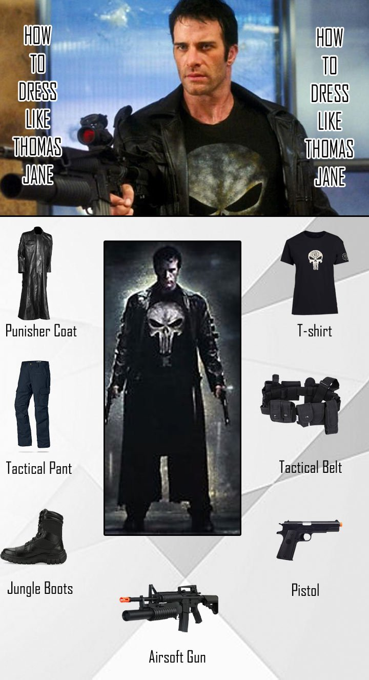 Thomas Jane The Punisher Costume Guide